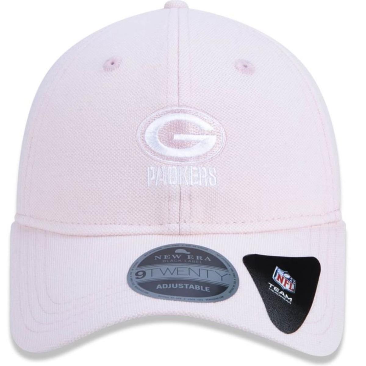 Boné Green Bay Packers Micro Stitch Rosa New Era - Rosa - Compre ... 55d401361fa