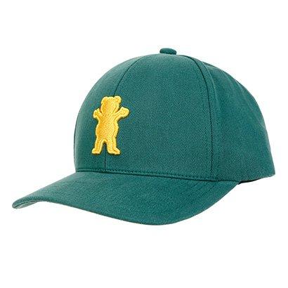 Boné Grizzly Aba Curva Og Bear Baseball - Masculino