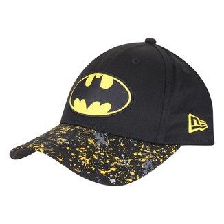 Boné Infantil New Era Aba Curva Snapback 940 Character Batman Blk Masculino