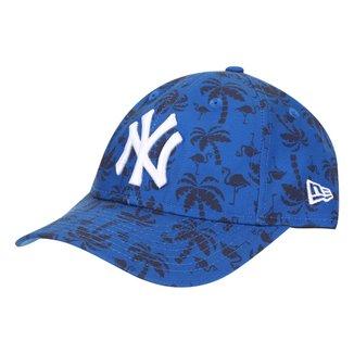 Boné Infantil New Era Aba Curva Snapback MLB ST920 Nelilprint B1 New York Yankees Otc