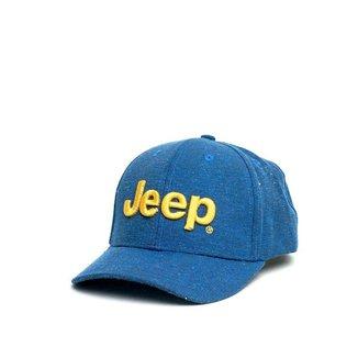 Boné JEEP Clássico Logo Bordado - Ecológico - Azul