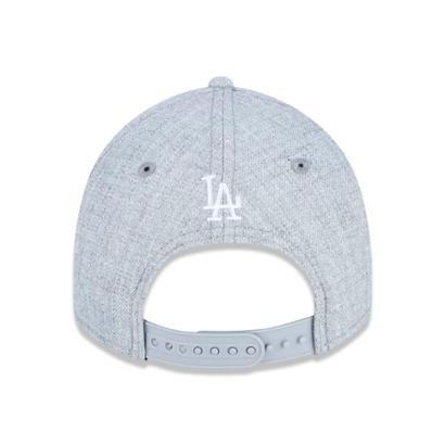 Bone Juvenil 9Forty Mlb Los Angeles Dodgers Mini Aba Curva Snapback New Era Masculino