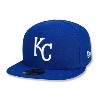 Boné Kansas City Royals 5950 Game Cap Fechado - New Era