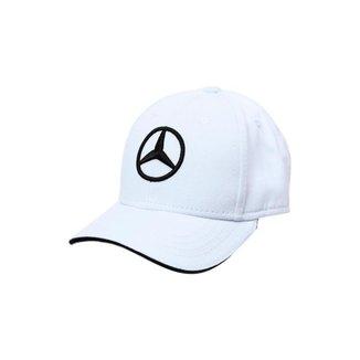 Boné Light Star Infantil Mercedes-Benz Branco