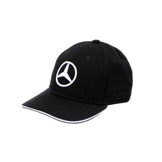 Boné Light Star Infantil Mercedes-Benz Preto