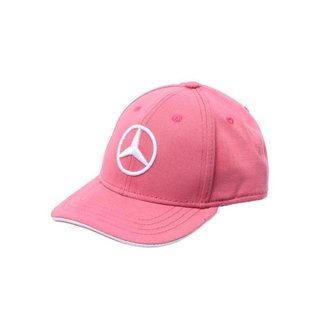 Boné Light Star Infantil Mercedes-Benz Rosa