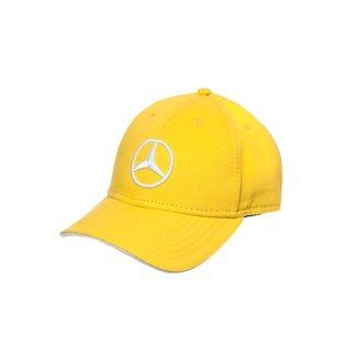 Boné Light Star Unissex Mercedes-Benz Amarelo