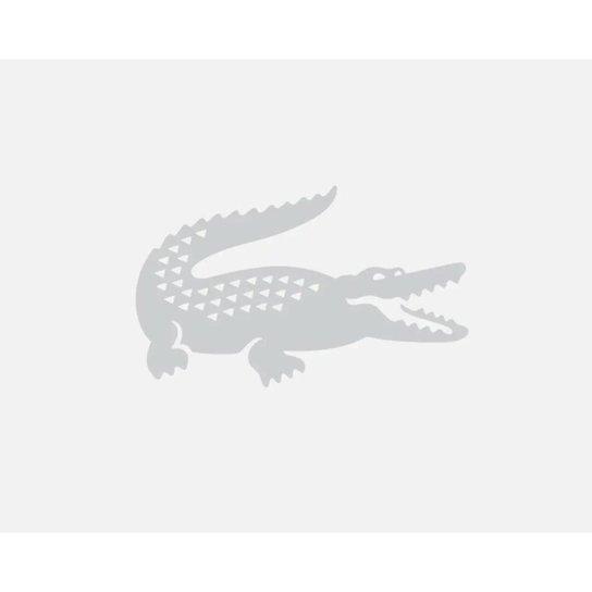 Boné masculino em algodão com tira contrastante e crocodilo - Azul