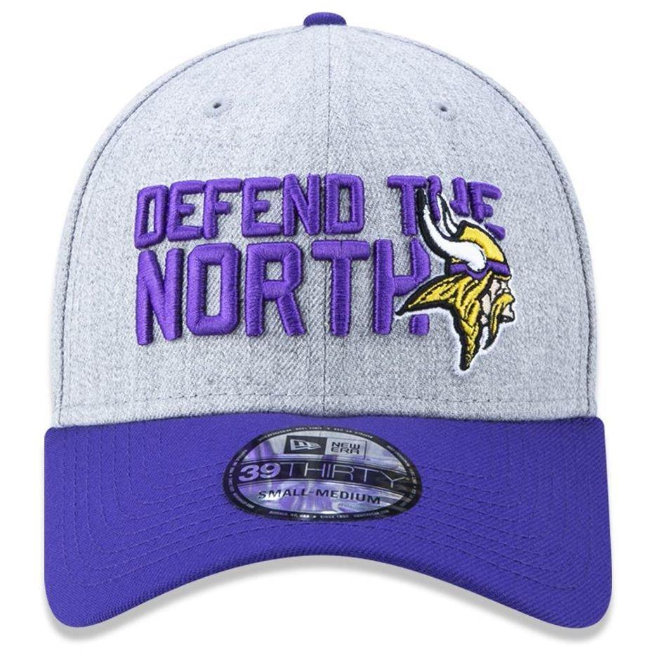 Boné Minnesota Vikings 3930 Draft 2018 Stage - New Era - Compre ... 20d0c4242c245