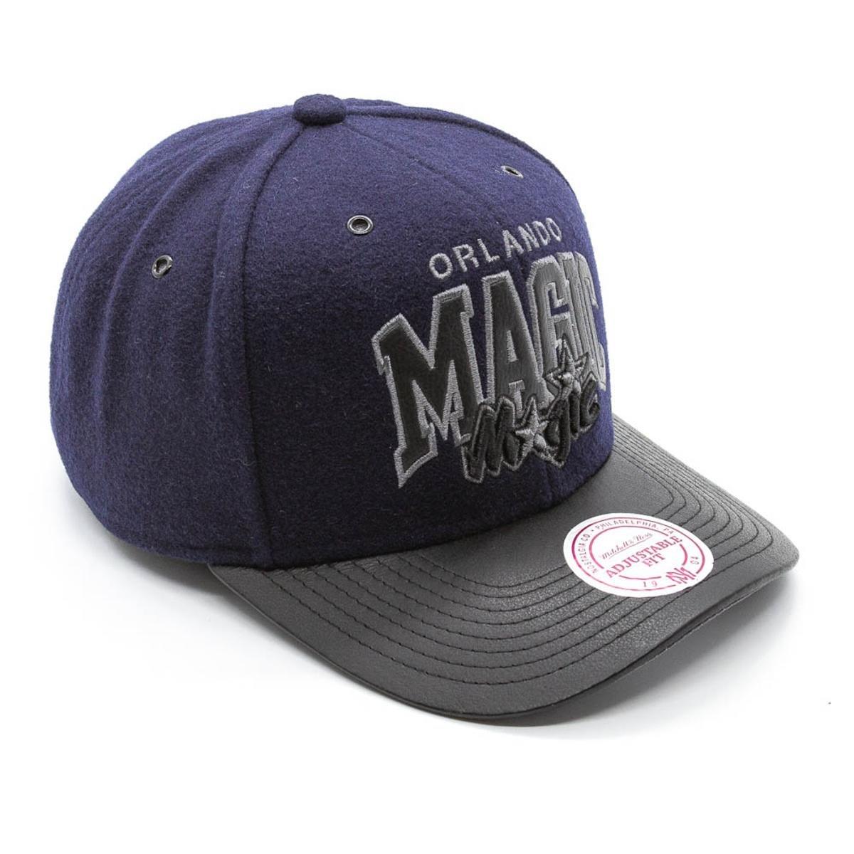 Boné Mitchell   Ness Blazer NBA Orlando Magic Snapback - Azul e ... 4c60a1aecaf