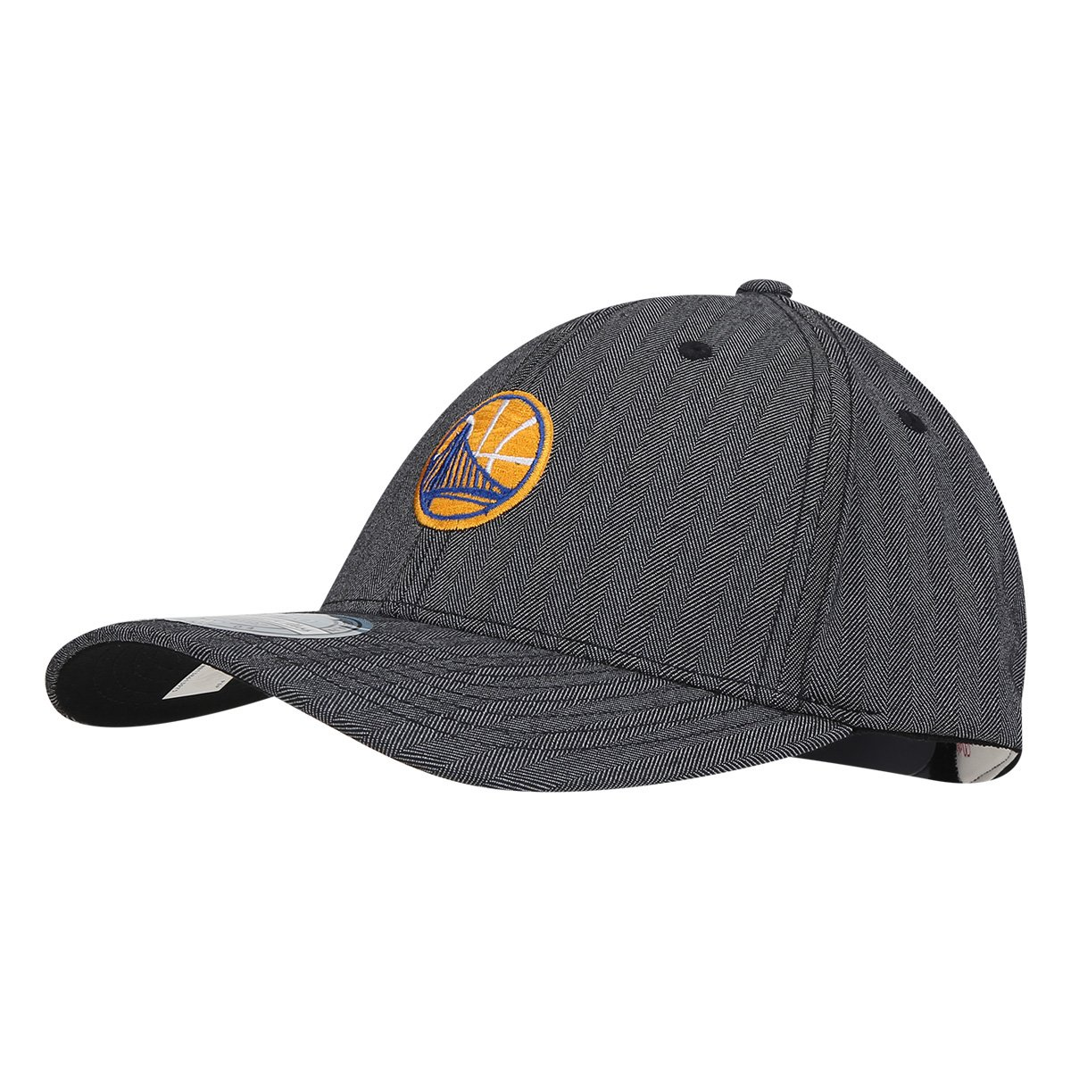 Boné Mitchell   Ness NBA Golden State Warriors Aba Curva - Cinza ... 91434c7dd505d