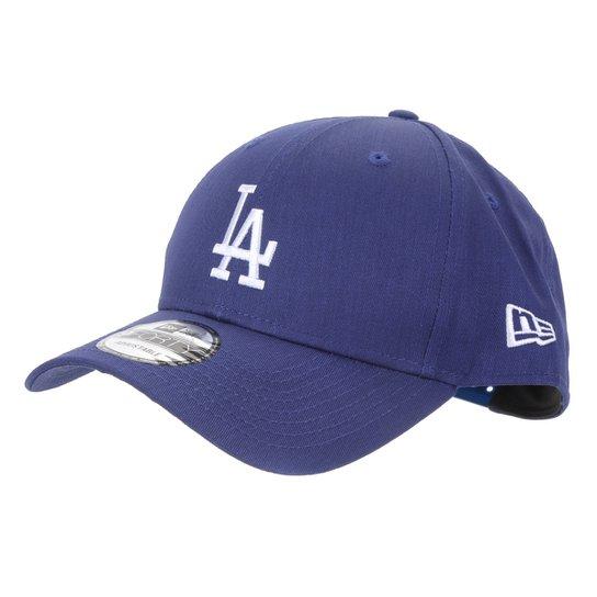 Boné MLB Los Angeles Dodgers New Era Aba Curva Snapback 9Forty - Azul