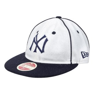 Boné MLB New York Yankees New Era Aba Reta 5950 Flat Bright Heritage