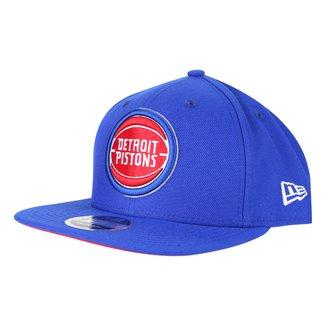 Boné NBA Detroit Pistons New Era Aba Reta Snapback 9Fifty Of Sn Primary