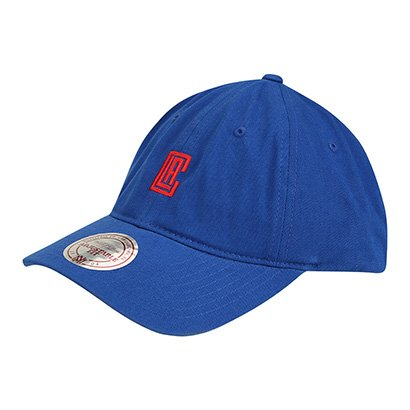 Boné NBA Los Angeles Clippers Mitchell & Ness Aba Curva Chukker - Unissex