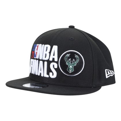 Boné NBA Milwaukee Bucks Aba Reta Snapback 950 Finals 2