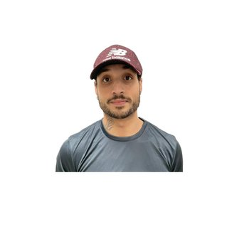 Boné New Balance Dad Hat Masculino - Vinho