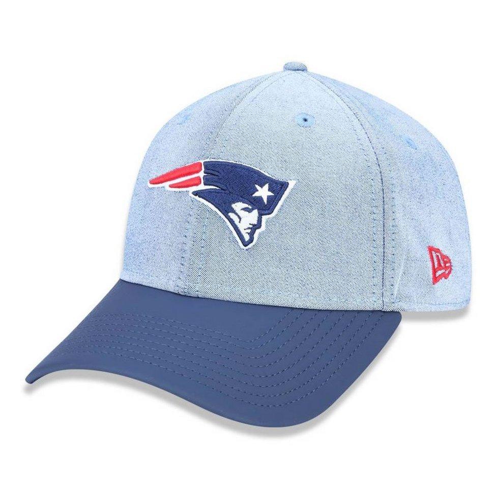 Boné New England Patriots 940 Core Denim New Era - Azul - Compre Agora  1a910901937