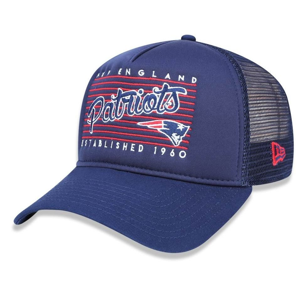 Boné New England Patriots 940 Trucker Sports Vein New Era - Compre Agora  2c511cf27a4