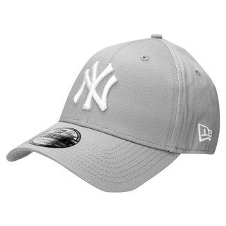 Boné New Era 3930 Hc White On Gray New York Yankees