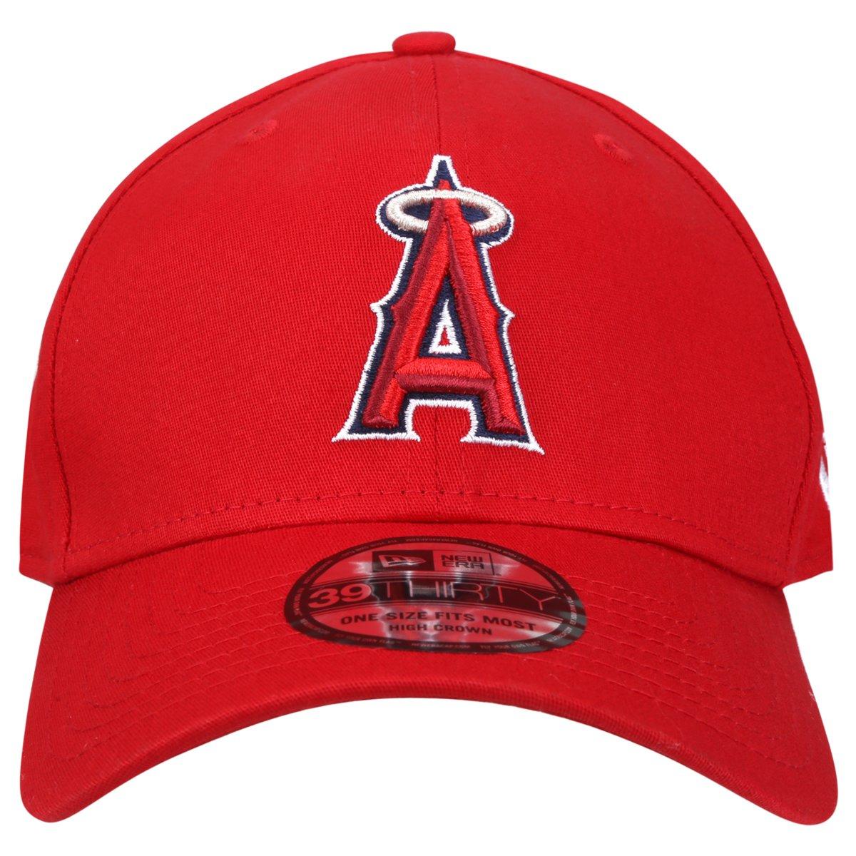 Boné New Era 3930 MLB Hc Basic Team Logo Los Angeles Angels - Compre Agora   bfc45f9438e