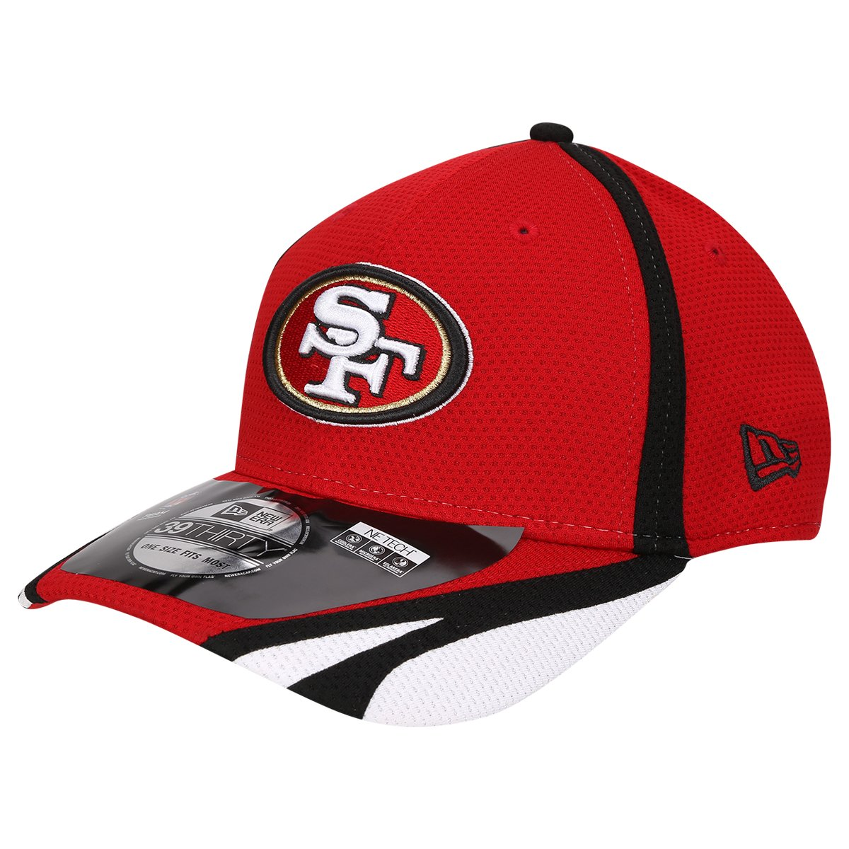 New Era 39Thirty Cap TRAINING San Francisco 49ers
