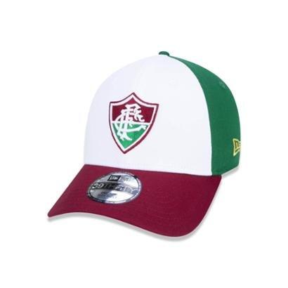 Boné New Era 39THIRTY Fluminense Escuro