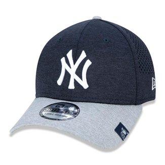 Bone New Era 39Thirty Mlb New York Yankees Spring Training Aba Curva