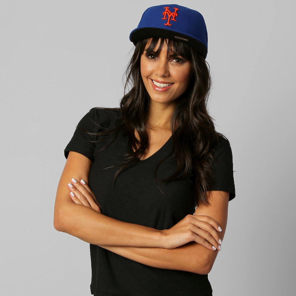 Boné New Era 5950 MLB AC New York Mets GM - Compre Agora  15c2b34a673