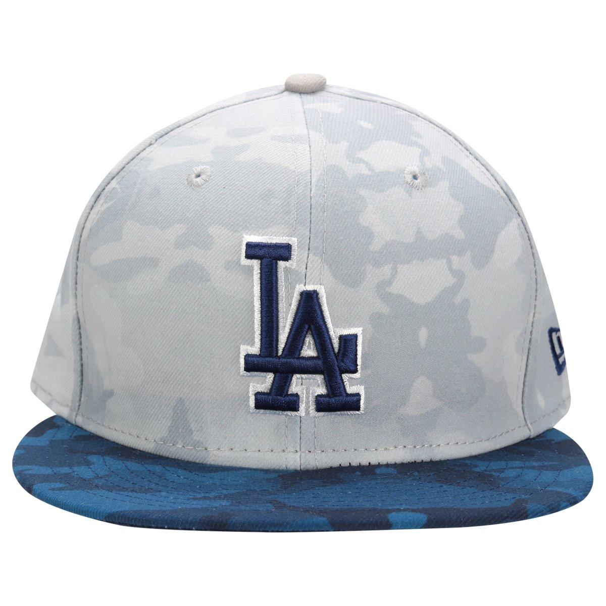 e2bcbcfa9e Boné New Era 5950 MLB Camo 2 Los Angeles Dodgers | Netshoes