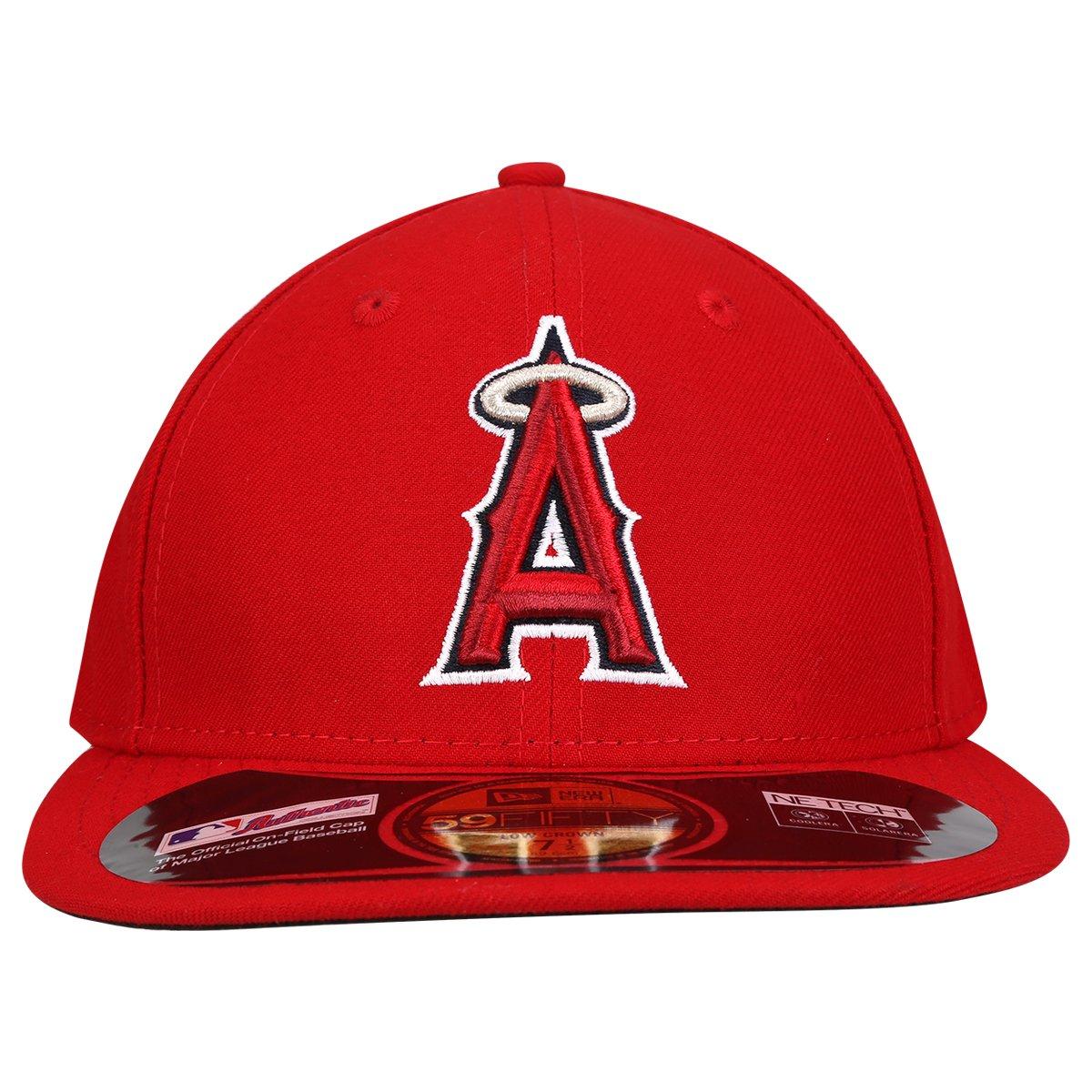 Boné New Era 5950 MLB Los Angeles Angels - Compre Agora  0ec9344e63e