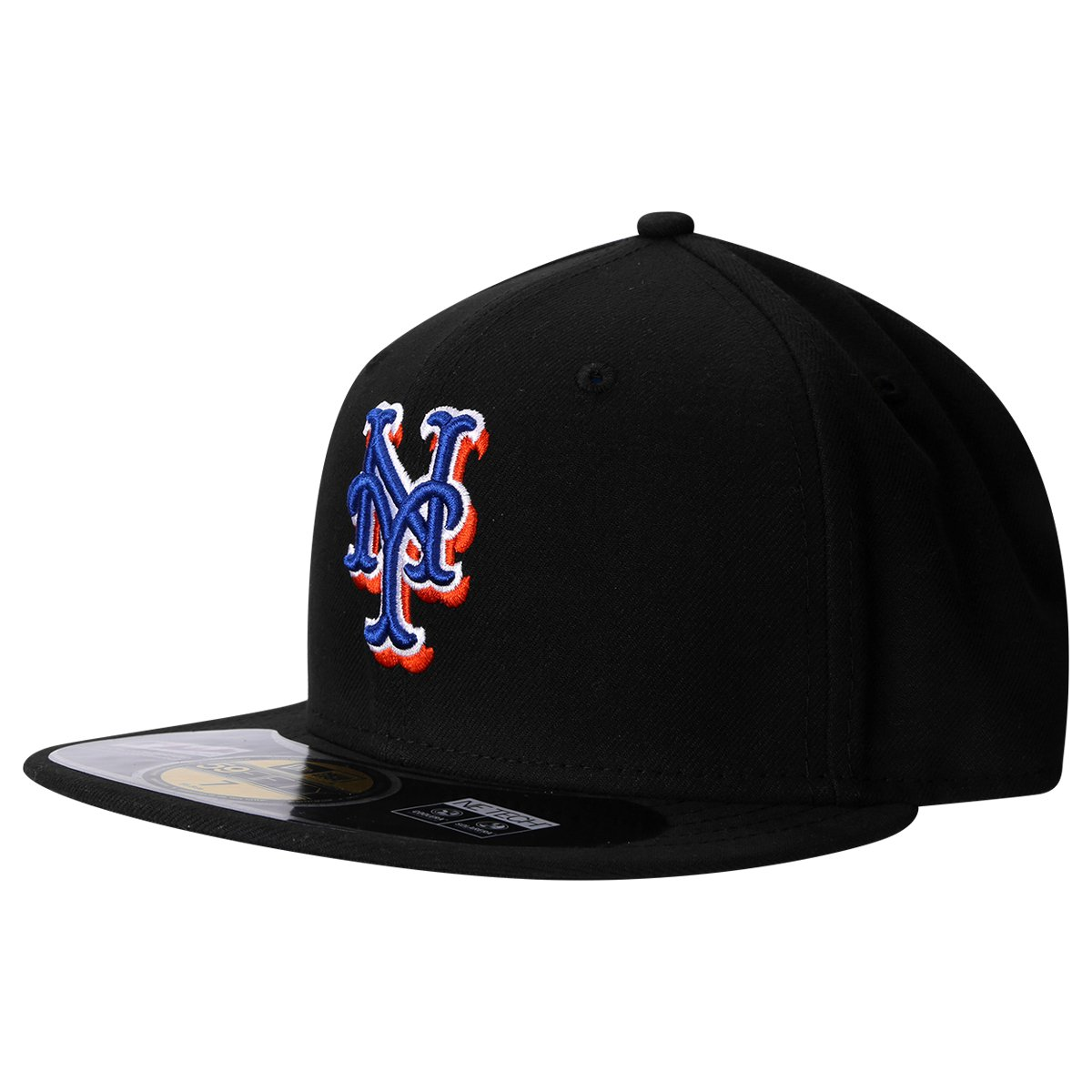 7a60e4554c5e7 Boné New Era 5950 MLB New York Mets - Compre Agora
