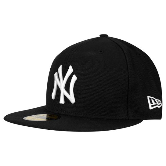 Boné New Era 5950 MLB New York Yankees - Preto