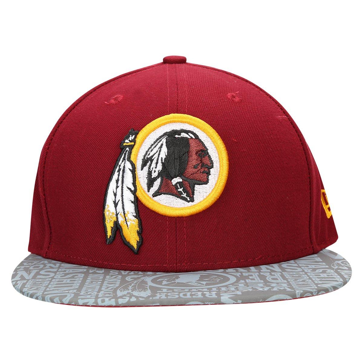Boné New Era 5950 NFL Official Draft Washington Redskins - Compre ... b1bb46f79d9