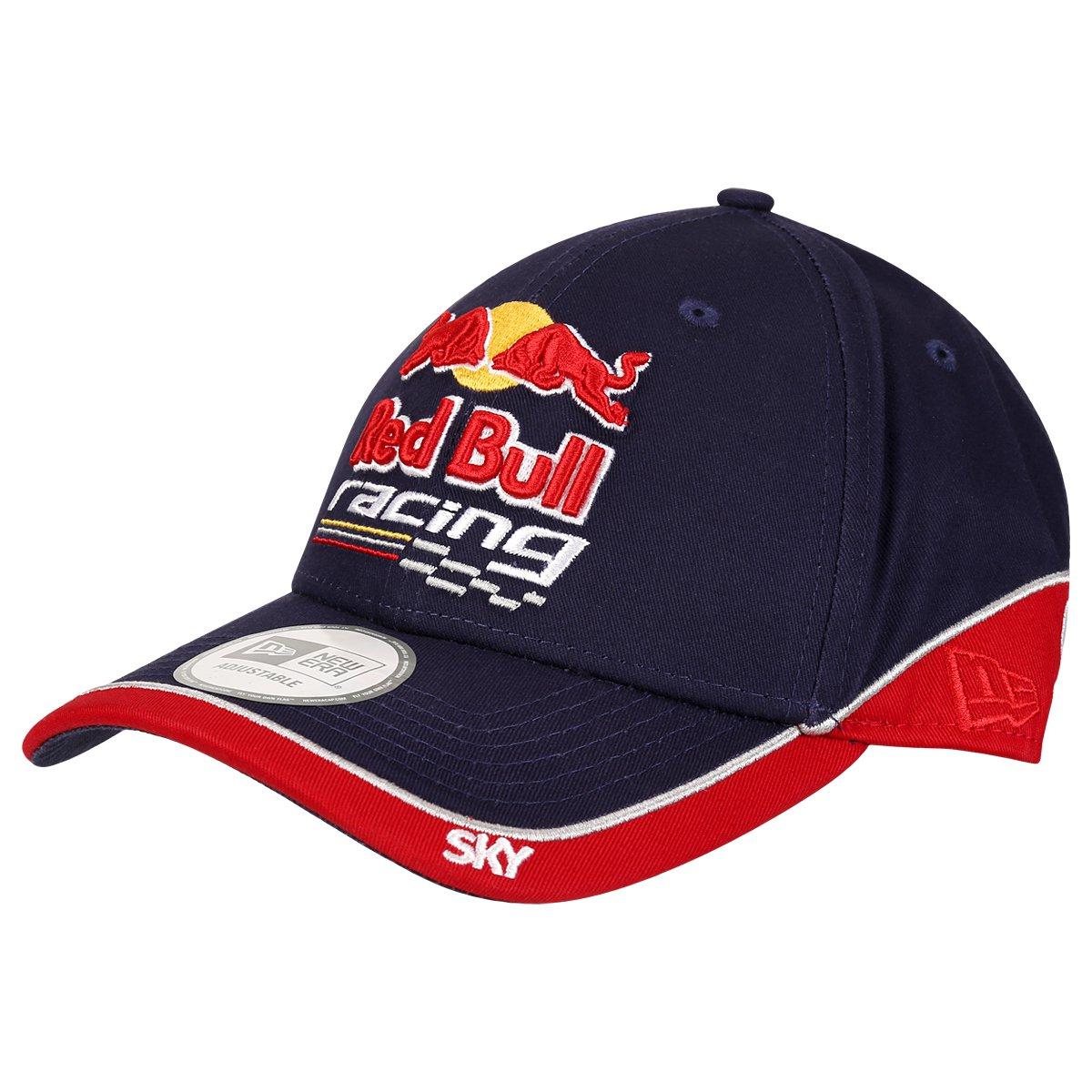 Boné New Era 940 Red Bull Sky - Marinho. até 2x de R  40 0462179473e