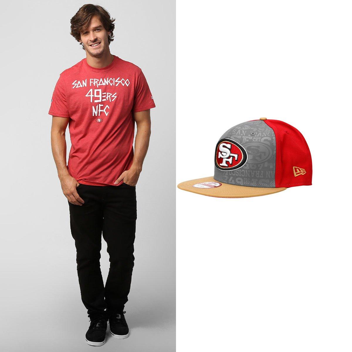 5cf8ad2f61069 Boné New Era 950 + Camiseta Urban San Francisco 49ers - Compre Agora ...
