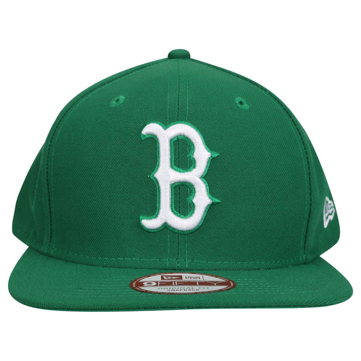 16ec96ee8f2a4 Boné New Era 950 MLB Original Fit Boston Red Sox - Verde água - Compre  Agora