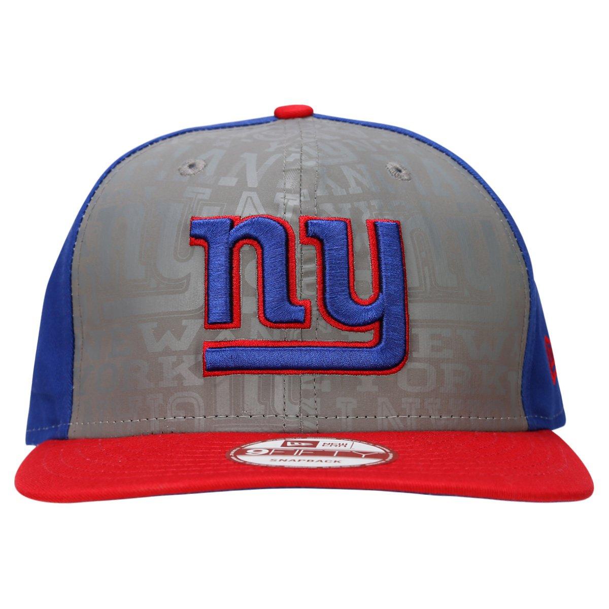 Boné New Era 950 NFL New York Giants Draft - Cinza e Azul - Compre ... 12b75036b9e
