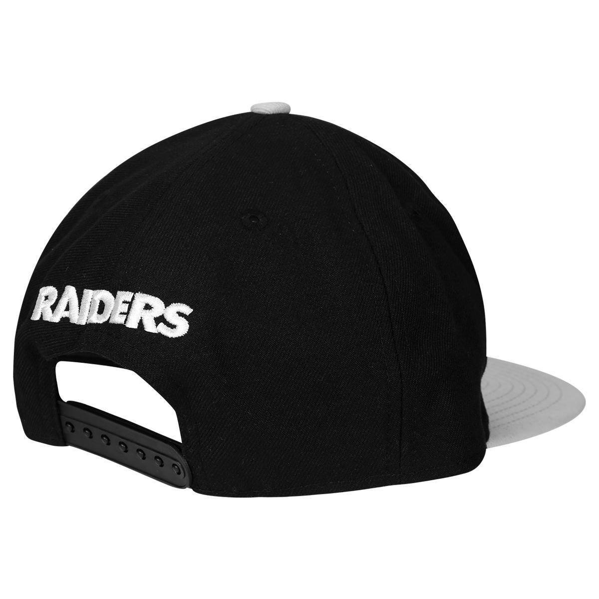 Boné New Era 950 NFL Of Sn Classic Team Oakland Raiders - Preto e ... 420f69a9bc8