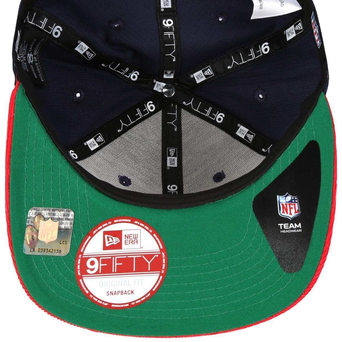 Boné New Era 950 NFL Original Fit Classic New England Patriots ... 6c4fa31823a
