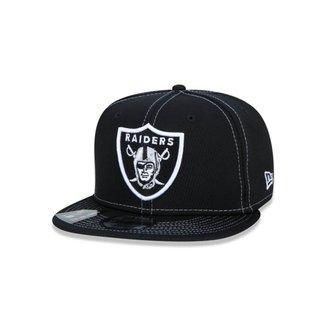 Bone New Era 950 Oakland Raiders Nfl Aba Reta