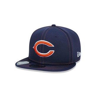 Boné New Era 9FIFTY NFL On-Field Coleção Sideline Chicago Bears