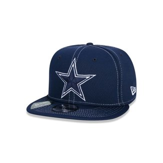 Boné New Era 9FIFTY NFL On-Field Coleção Sideline Dallas Cowboys