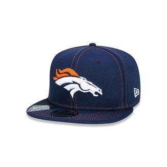 Boné New Era 9FIFTY NFL On-Field Coleção Sideline Denver Broncos