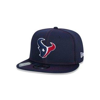 Boné New Era 9FIFTY NFL On-Field Coleção Sideline Houston Texans