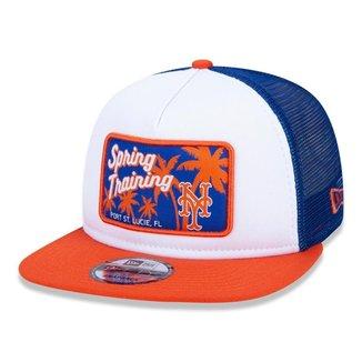 Boné New Era 9FIFTY Trucker MLB New York Mets Spring Training