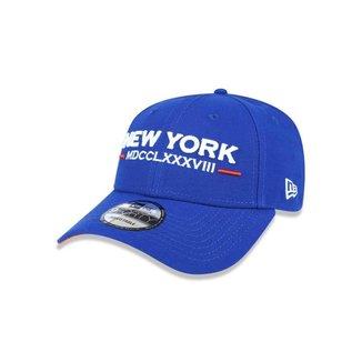 Boné New Era 9FORTY Aba Curva Ajustável New York