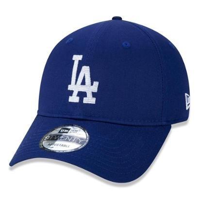 Bone New Era 9TWENTY MLB Los Angeles Dodgers