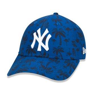 Bone New Era 9Twenty Mlb New York Yankees Spring Training Aba Curva