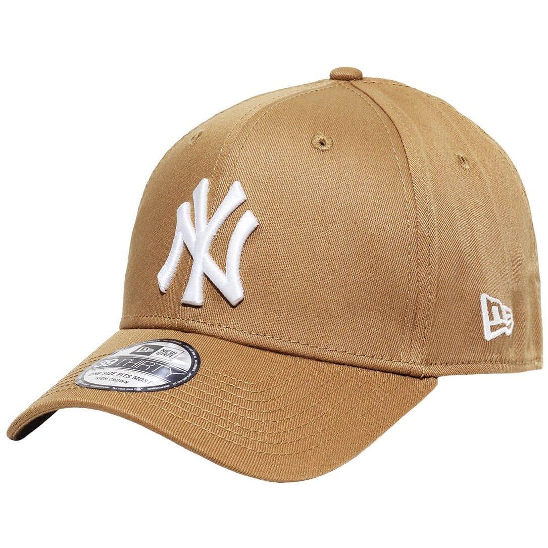 Boné New Era Aba Curva Fechado Mlb Ny Yankees Colo - Bege - Compre ... 3ed74435cc6